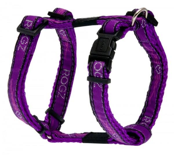 Rogz Beltz Geschirr Gr. XL Chrome Purple