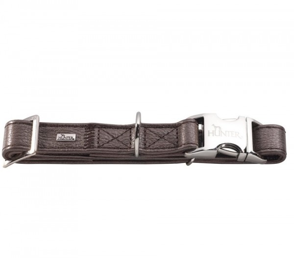 Hunter Lederhalsband Capri ALU-Strong