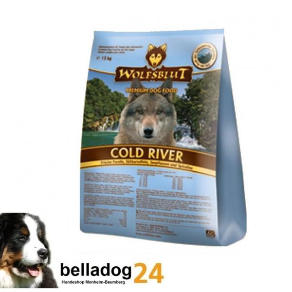 (3,87€/kg) Wolfsblut 15kg Cold River Forelle Adult