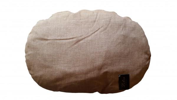 Lebon Hundekissen Elli beige-grau 70x50cm