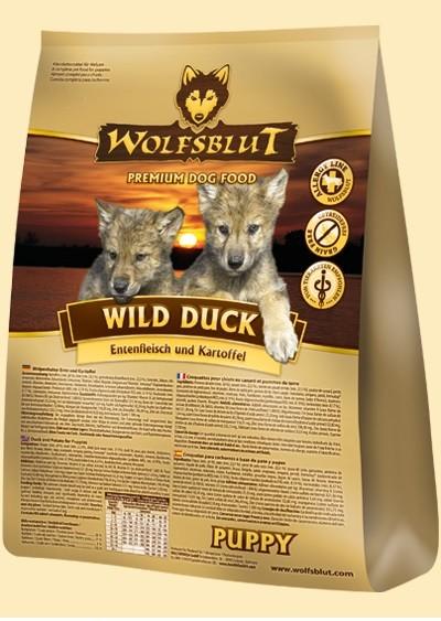 (4,20€/kg) Wolfsblut 15kg Wild Duck Puppy
