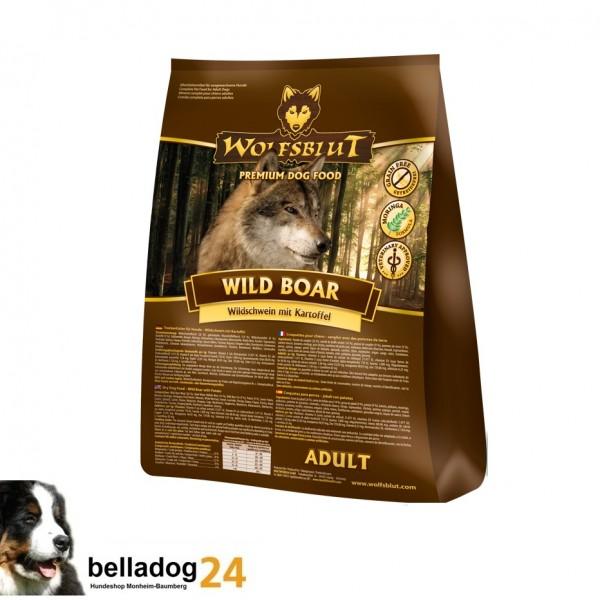 (4,33€/kg) Wolfsblut 15kg Wild Boar Adult