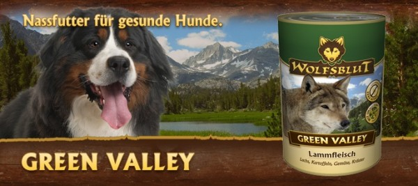 Wolfsblut Green Valley 6x395g Dose