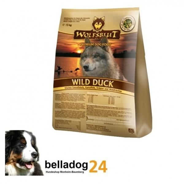 Wolfsblut 15kg Wild Duck Ente Adult