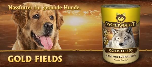 (8,86€/kg) Wolfsblut Gold Fields 6x395g Dose