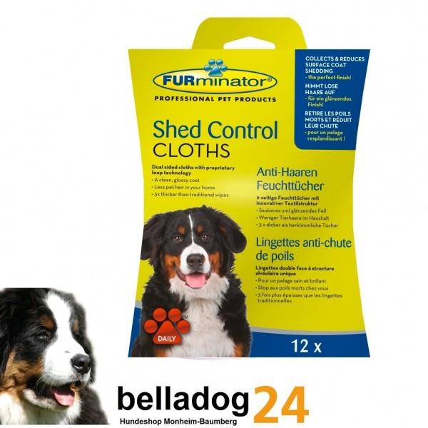 FURminator Anti-Haaren Feuchttücher für Hunde