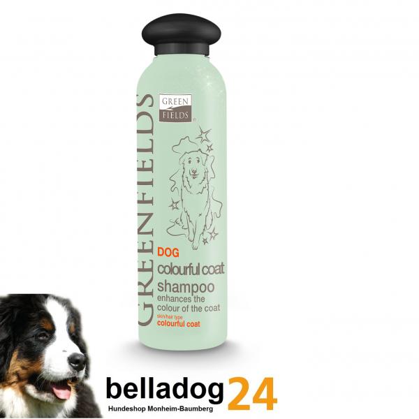 Greenfield colourful coat Hunde Shampoo 250ml