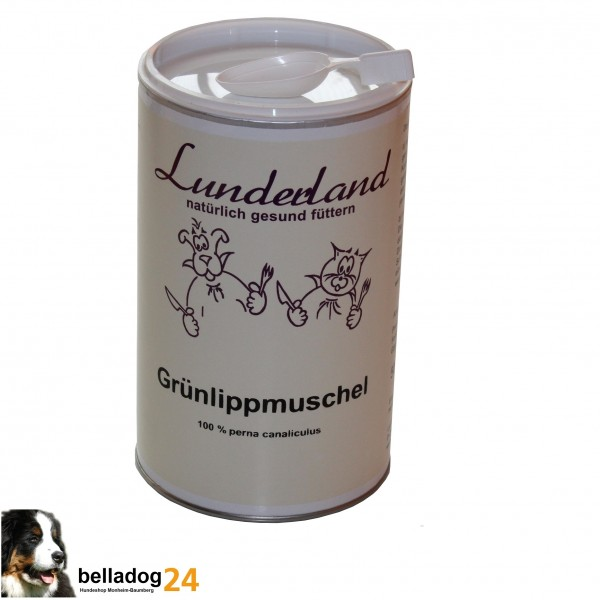 Lunderland Grünlippmuschel Pulver 250g